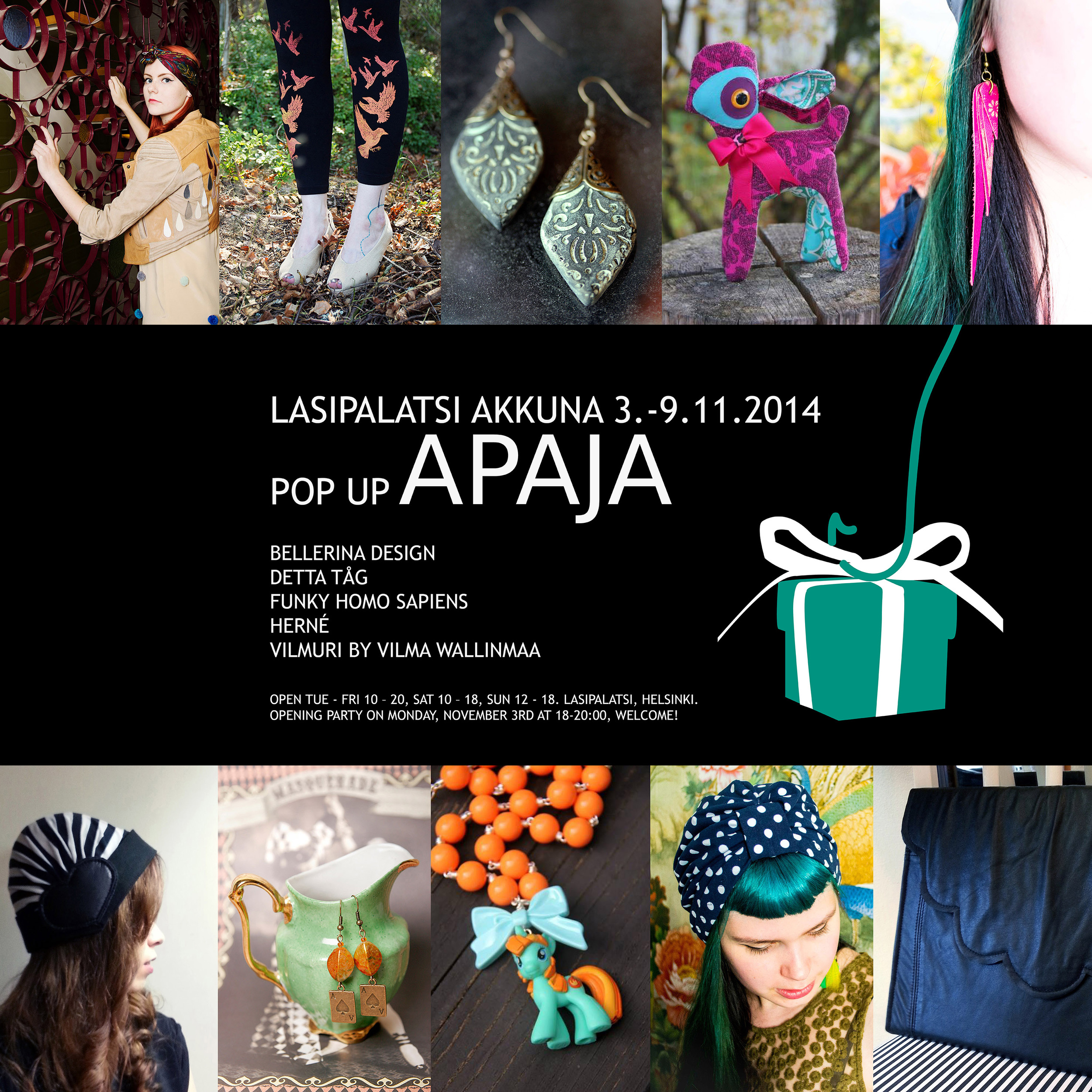 pop up shop lasipalatsi