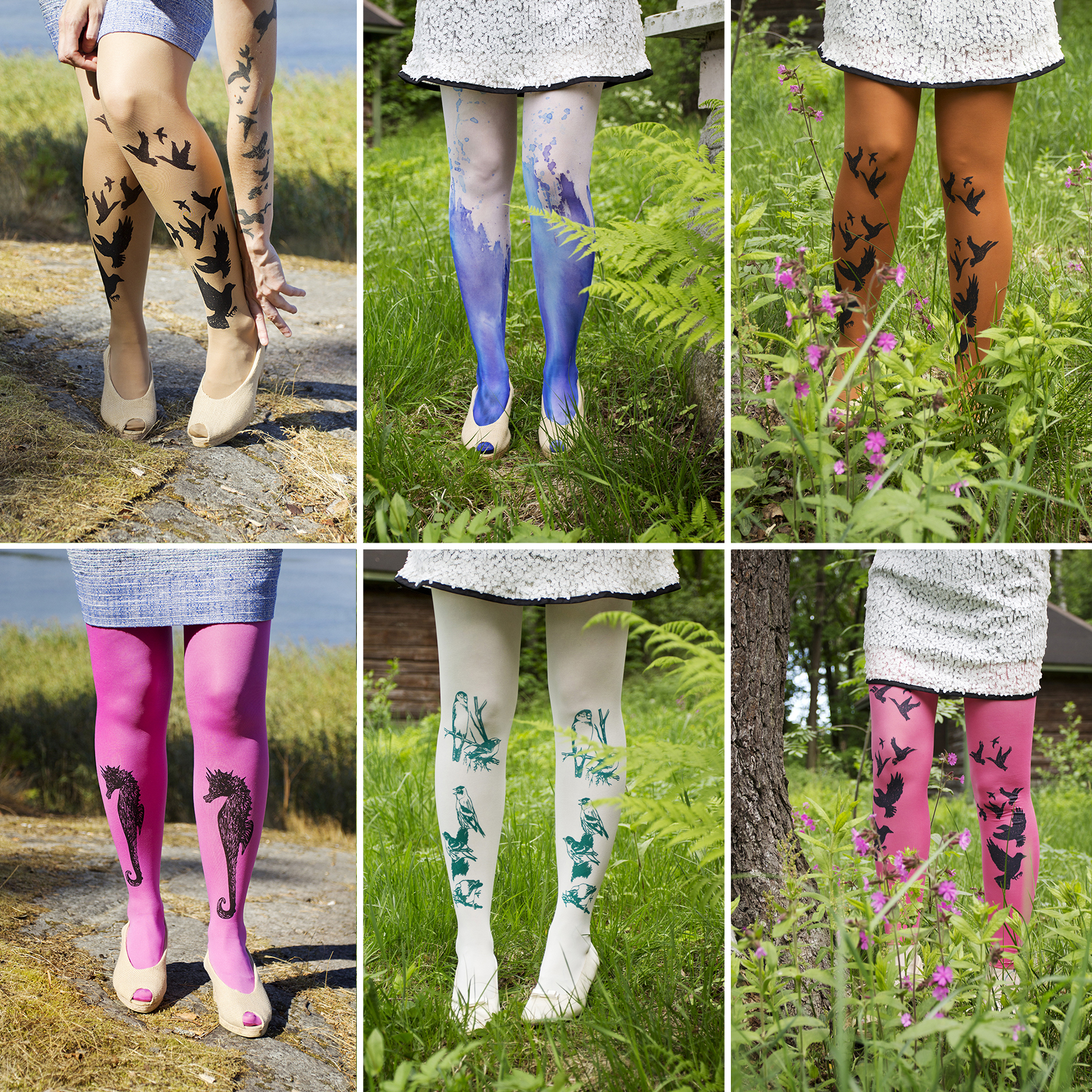 VILMURI by Vilma Wallinmaa tights avalable @ Design District Market 2015