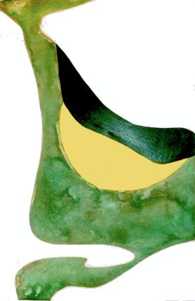 Oppression     peinture 100 x 64 cm :   vinylique, glycéro, métal oxydésur support rigide (Isorel)
