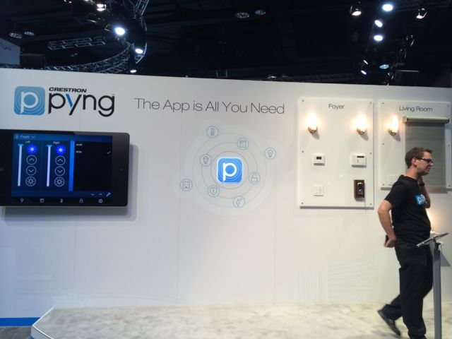 Crestron Pyng Display