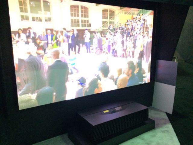 Sony 4K Short-throw Projector