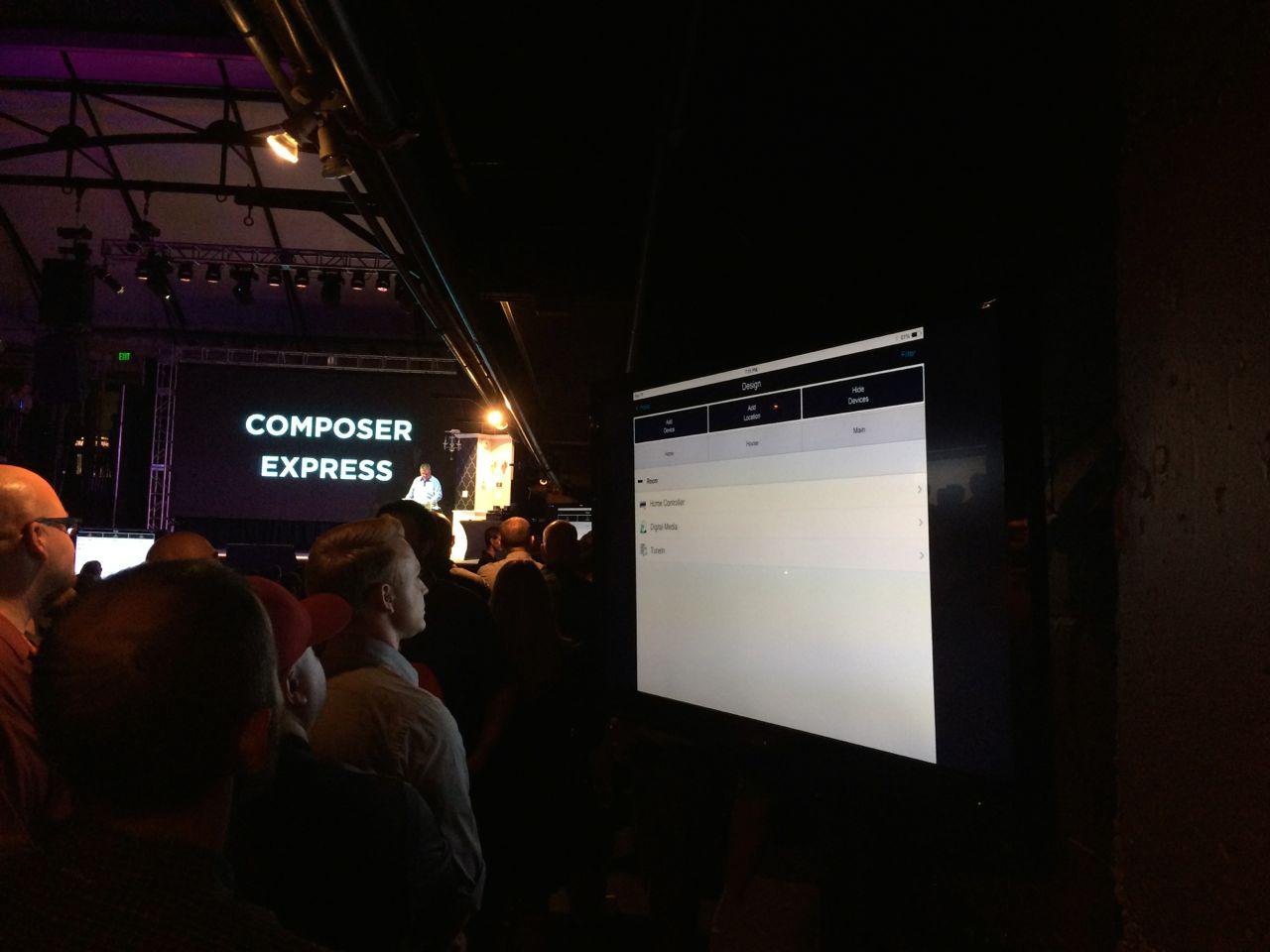 Composer Express demo