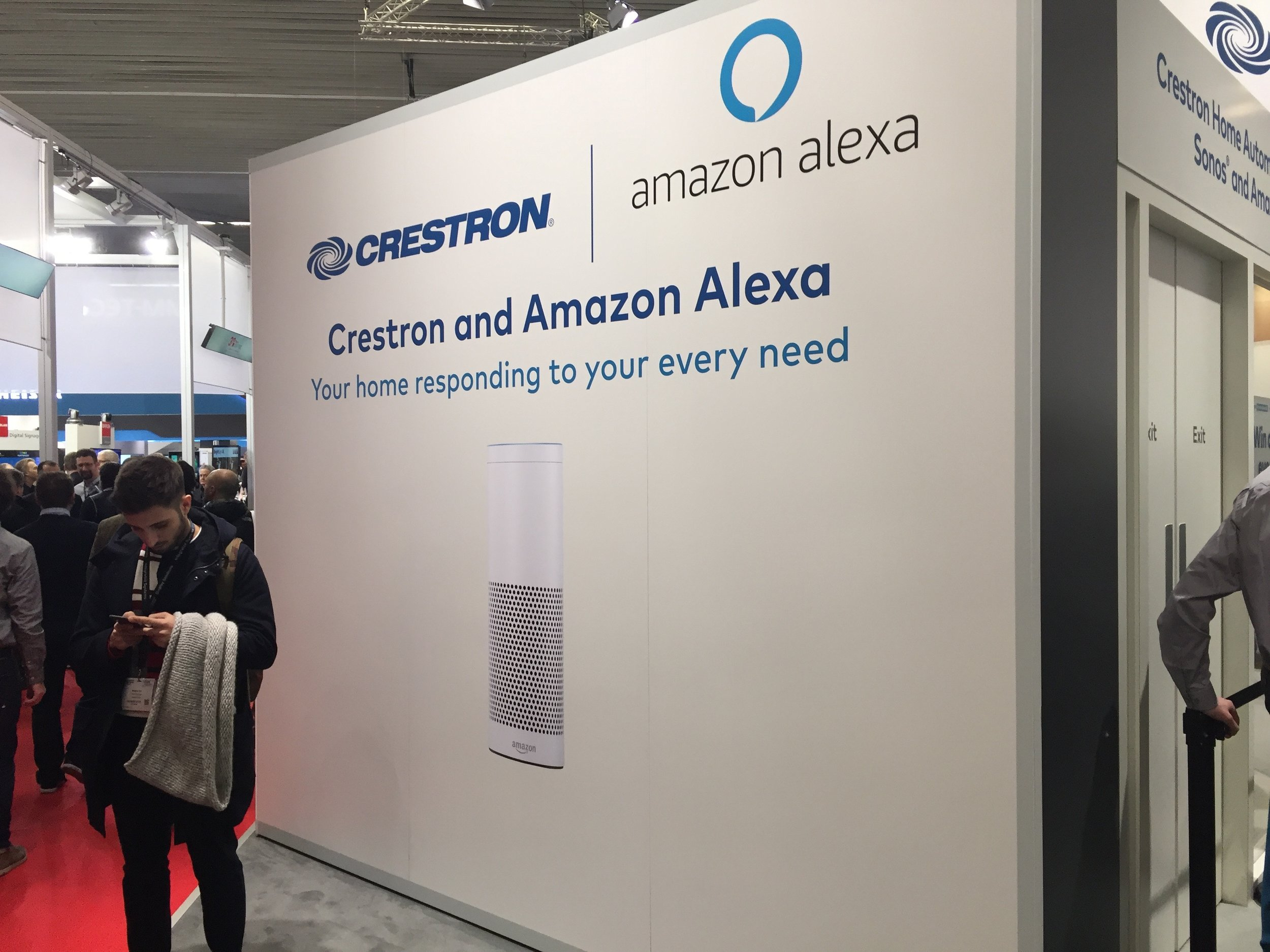 Crestron and Echo