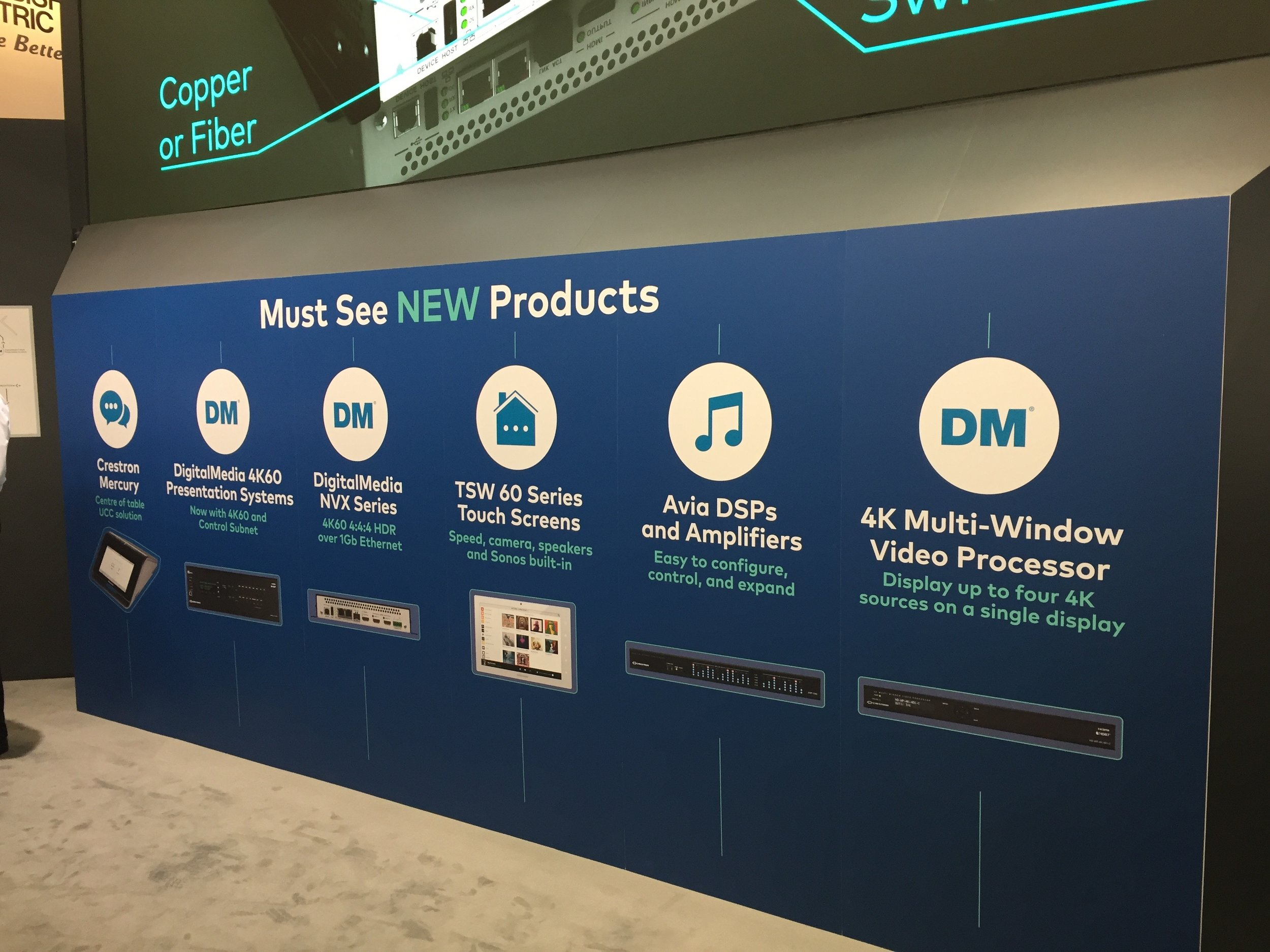 "Crestron's massive stand - ""must see"" updates"