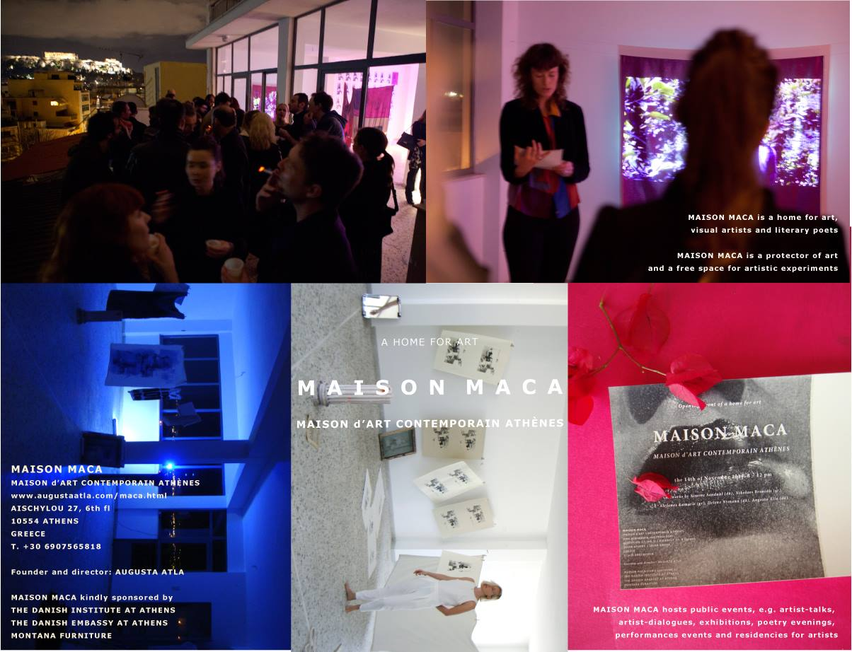 MAY: RESIDENCY AND EXHIBITION: MACA, ATHENS (GR)