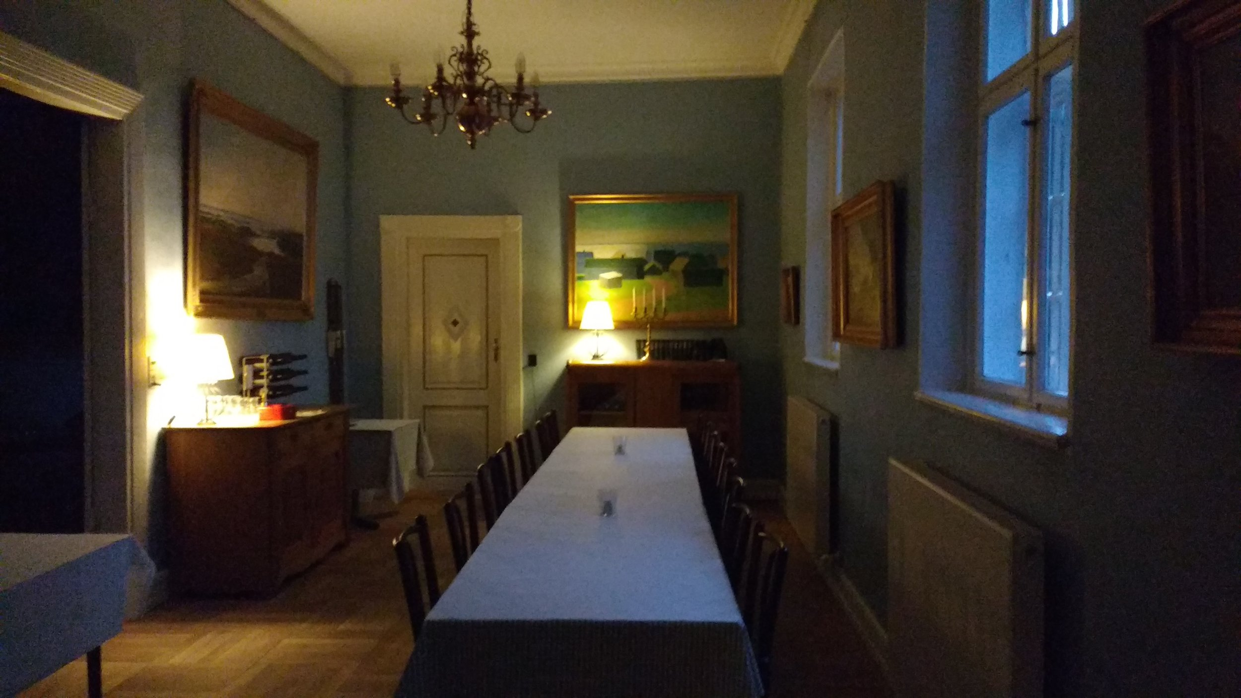 Staying two weeks at  Hald Hovedgaard  writer's retreat in the middle of Jutland early August.