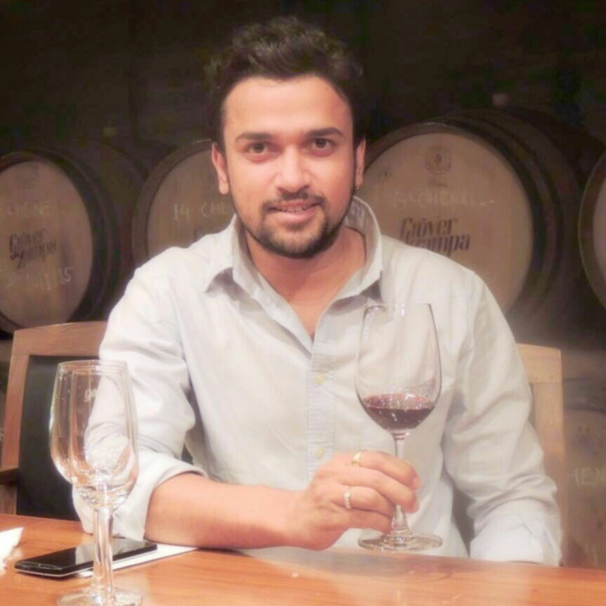 Vikrant Holkar - Founder and CEO of Red Grapes - Indian wine tourism - www.redgrapesindia.com