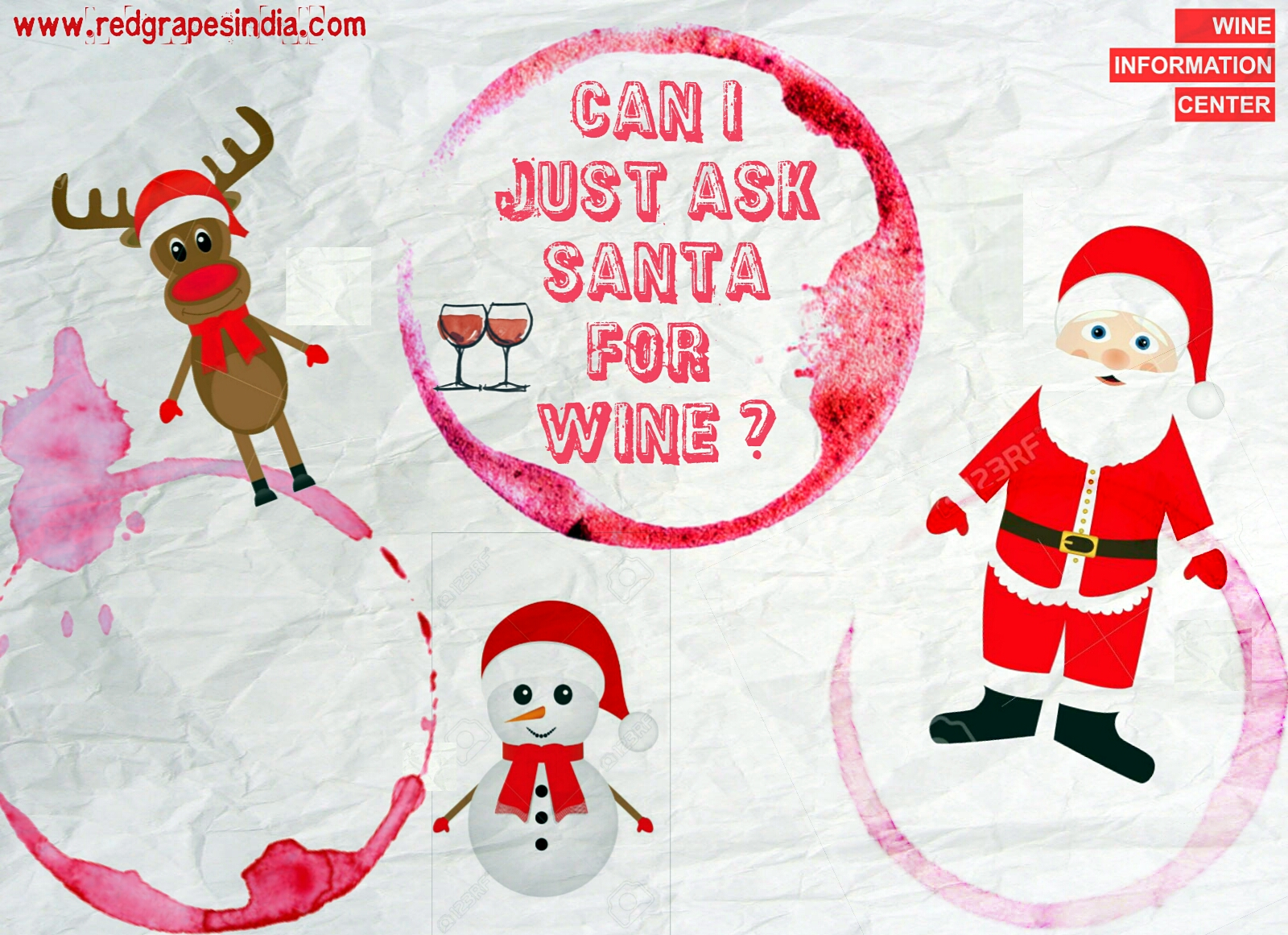 Christmas Eve at Wine Information Center by Red Grapes at Wine park, Nashik