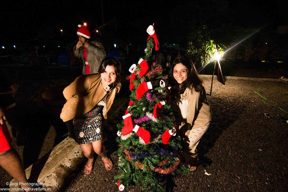 Christmas event 2016 at Wine Information Center by Red Grapes at Wine park, Nashik, Maharashtra, India.