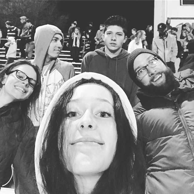 Last night's Fields of Faith event was chilly, but really cool 😎