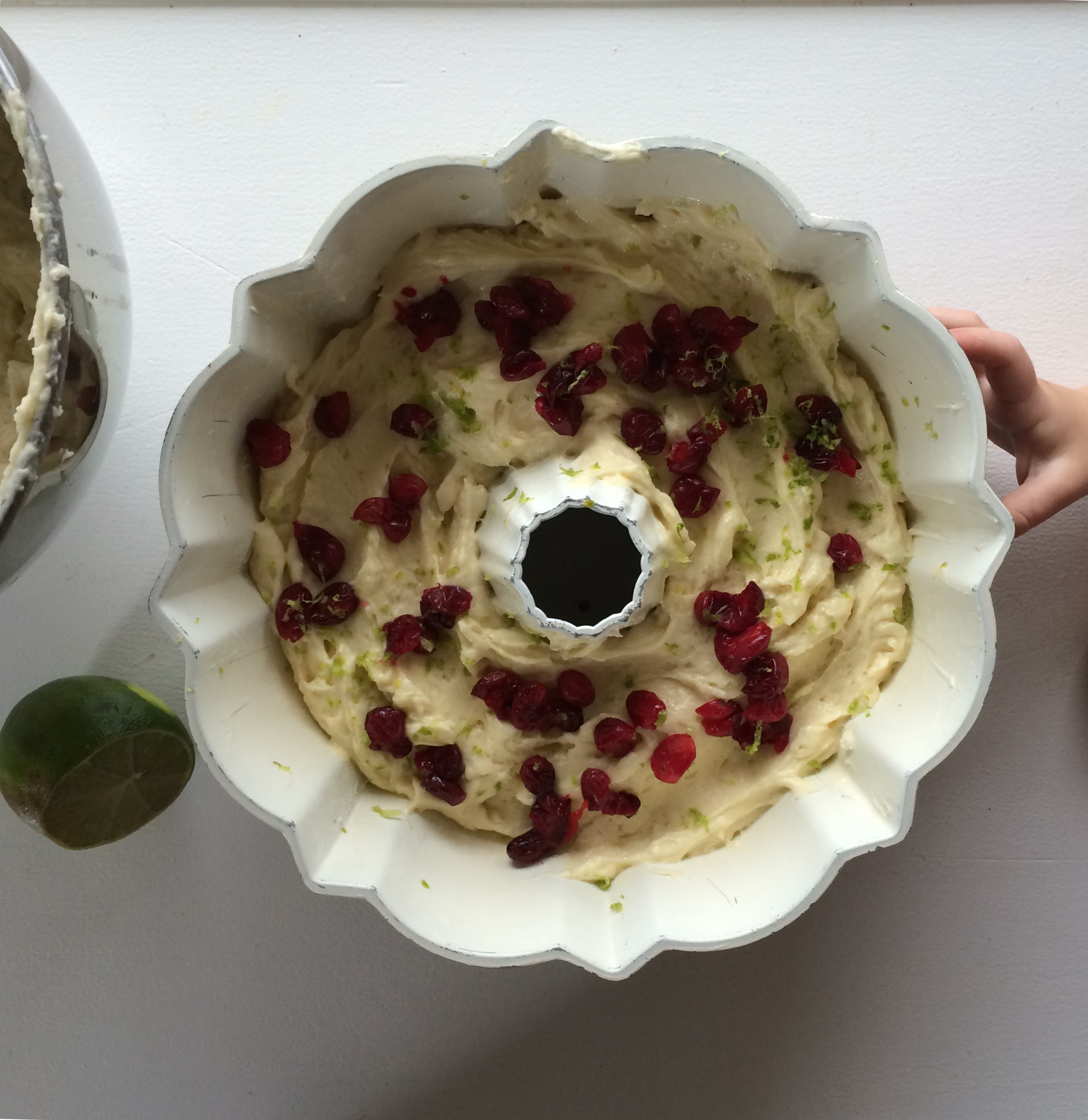 cranberrylimebundt