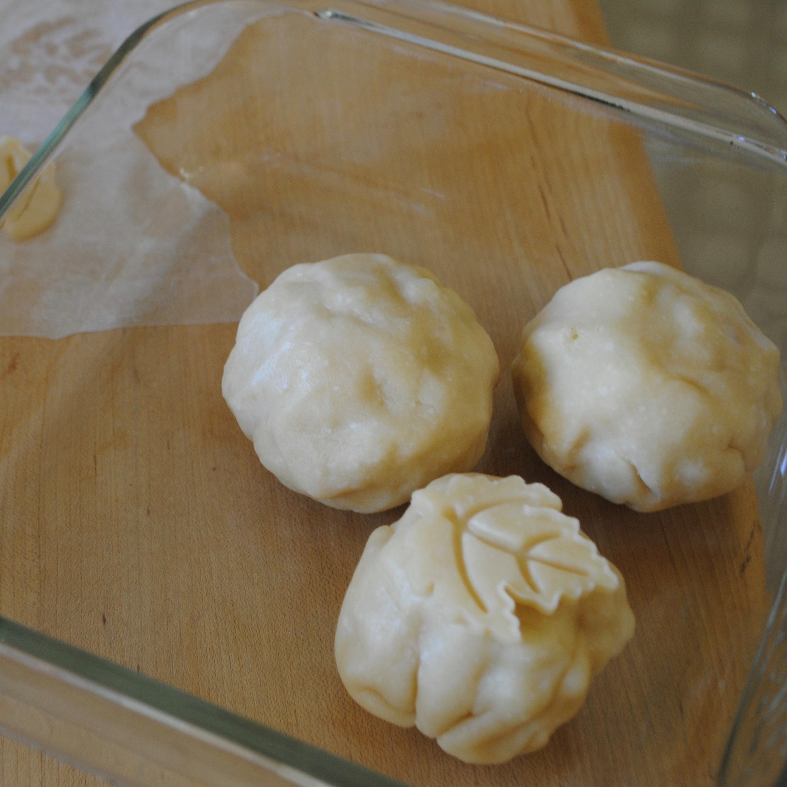 Place dumplings in pan