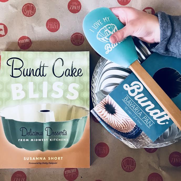 Umm... Hello Gorgeous! This would make a wonderful christmas gift!  Bundt Cake Bliss &  Bavaria Bundt!