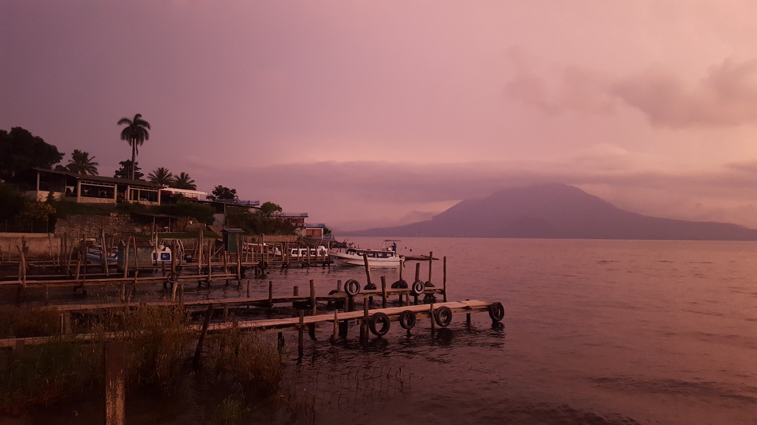 Lake Atitlán, Guatemala - 2017  This past November and December, I had the chance to travel for 6 weeks. In that time frame, I visited Mexico, Belize, Guatemala, Costa Rica, Greece, and Turkey. I tend to get a little too into getting good shots while travelling that I end up spending more time behind my camera or my phone than I probably should. But looking at the results afterwards makes it worth it. The above photo was taken during sunset in Guatemala at Lake Atitlán surrounded by volcanoes.