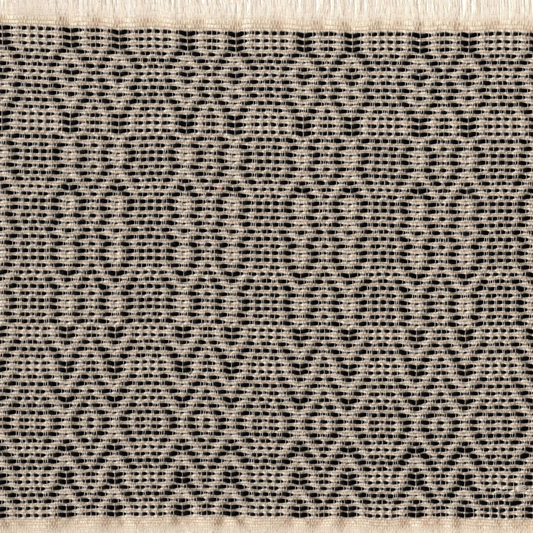 Jacquard de Coton #41 (Noir Blanc)