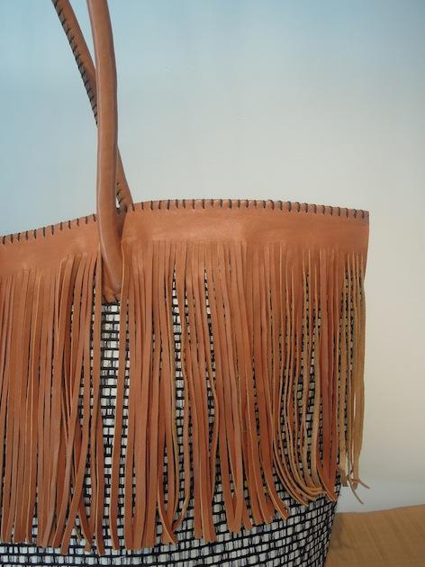T1 - Zwin Basket w/ Fringe detail