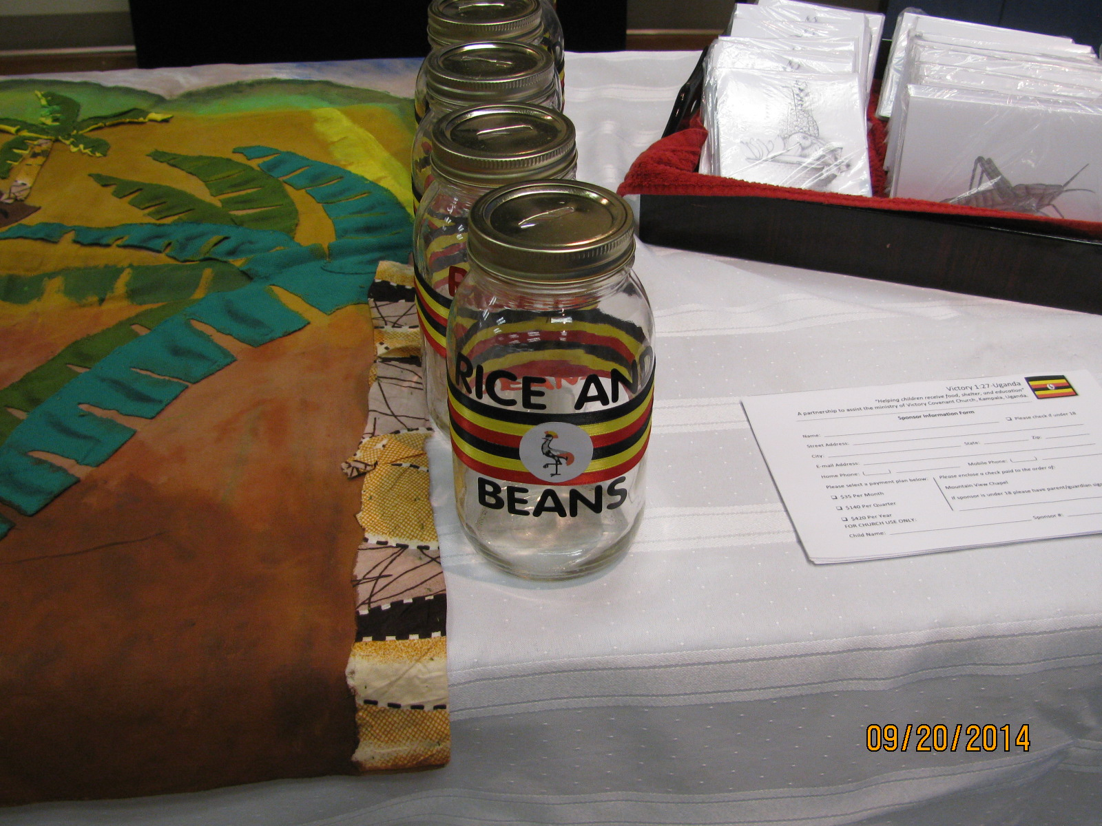rice & beans fund