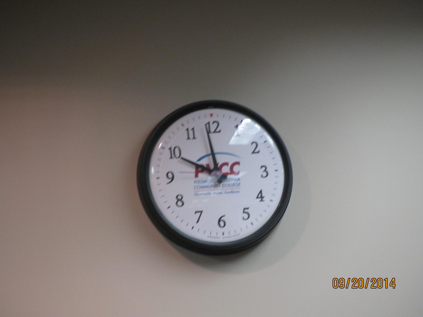 start time....2 minutes til 10am