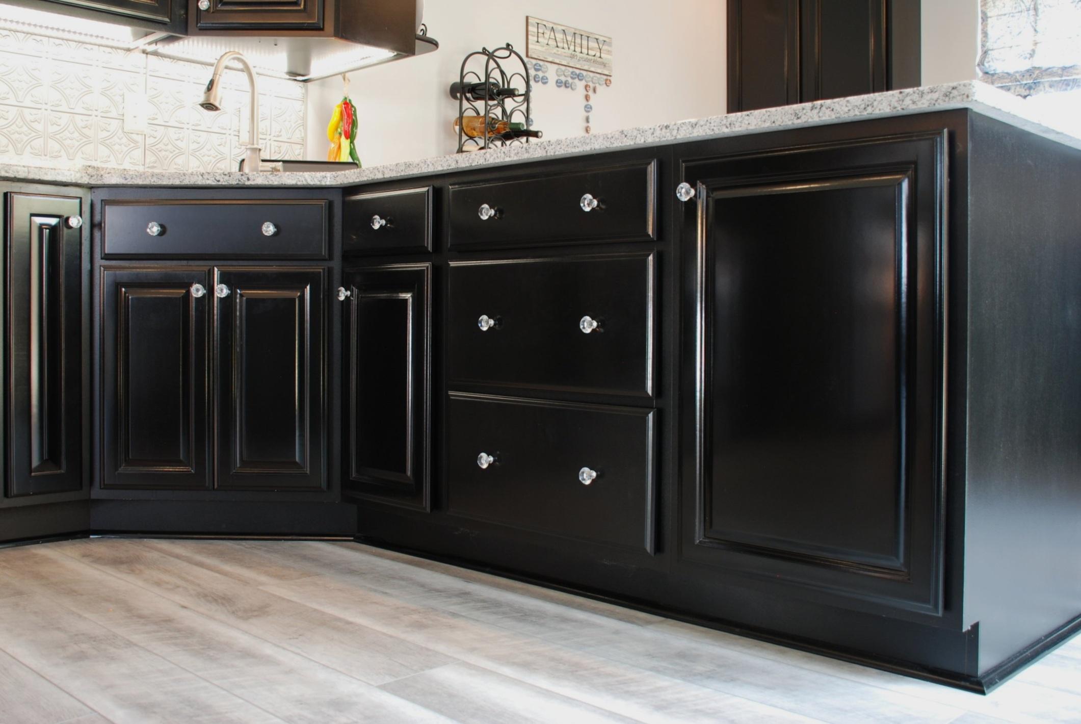 Kitchen Cabinet Refinishing Process West Interior Services