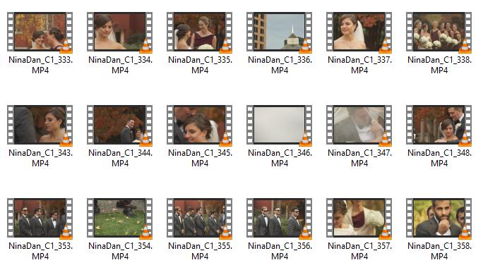 new england wedding videos