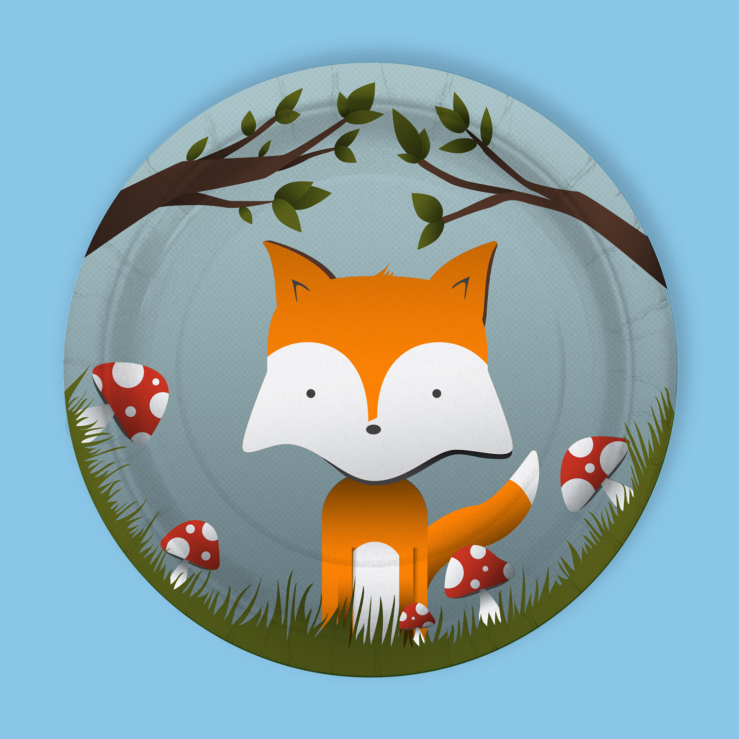 Retail_Woodland Plate_Hold The Balloon_Bootstrap Design Co.png