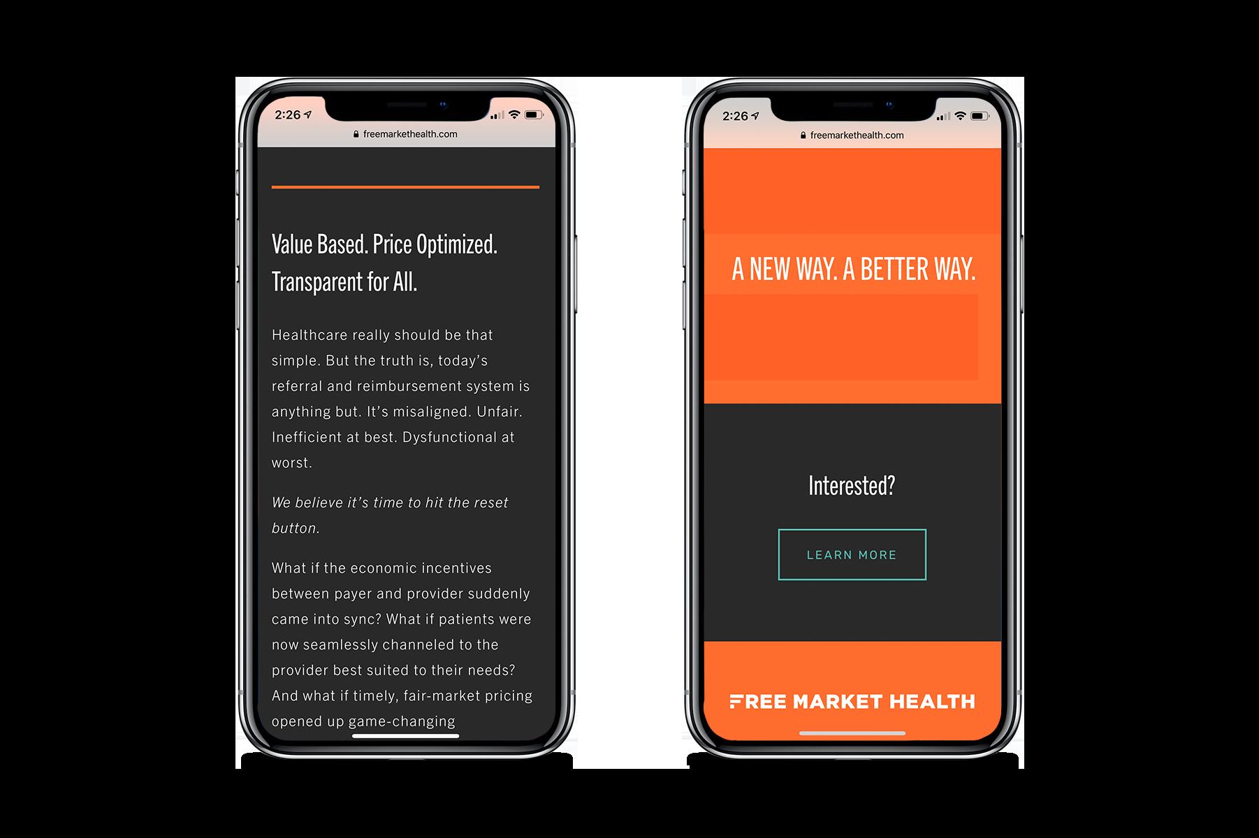 health_branding_free-market-health_bootstrap-design-co_website-mobile.png