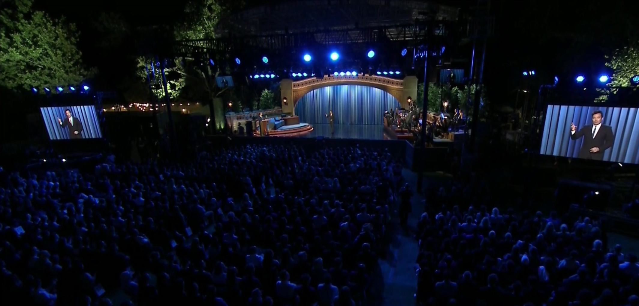 Late Night Show w/Jimmy Fallon @ Summer Stage in Central Park
