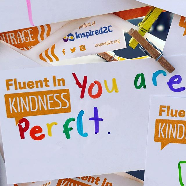 You are 'perfect'. #fluentinkindness