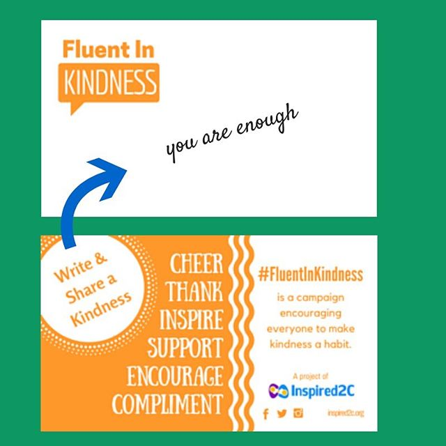 Are you looking for an easy way to share kindness? Order some #fluentinkindness cards today. http://www.inspired2c.org/fluent-in-kindness-cards/fluent-in-kindness-cards
