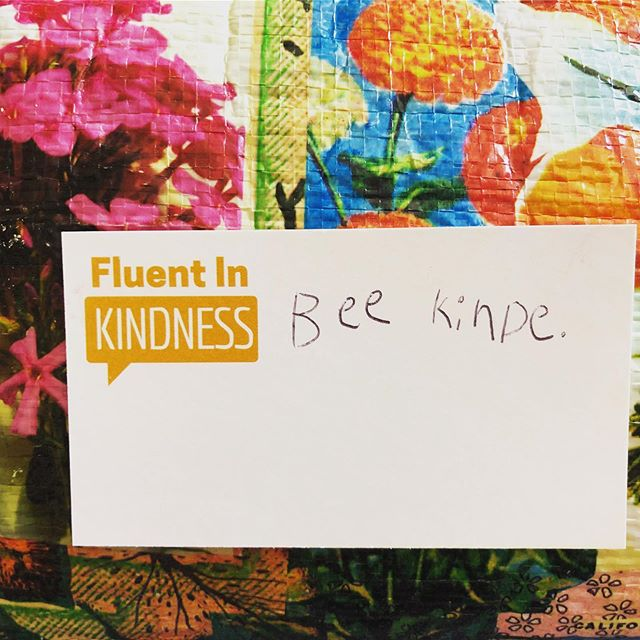 We all make mistakes so remember to be kind to yourself and others. #fluentinkindness