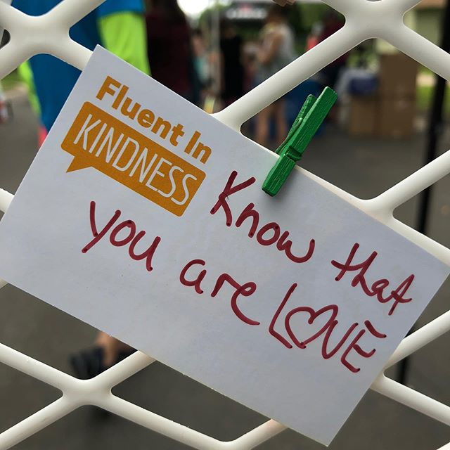 Know that you are love. #fluentinkindness