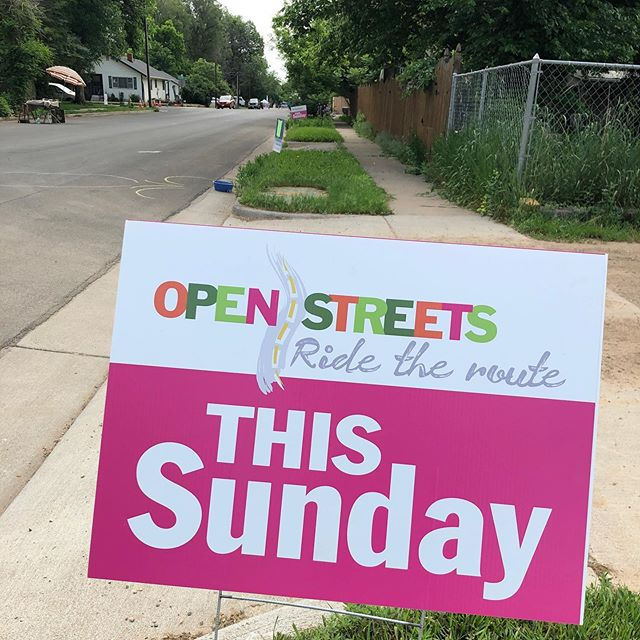 Hey #fortcollinscolorado! Come play in the street today. Find us at Shields and Maple. #openstreetsfc