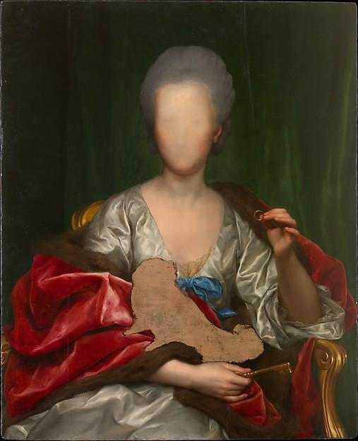 Portrait of Mariana de Silva y Sarmiento, duquesa de Huescar (1740-1794) from Metmuseum.org