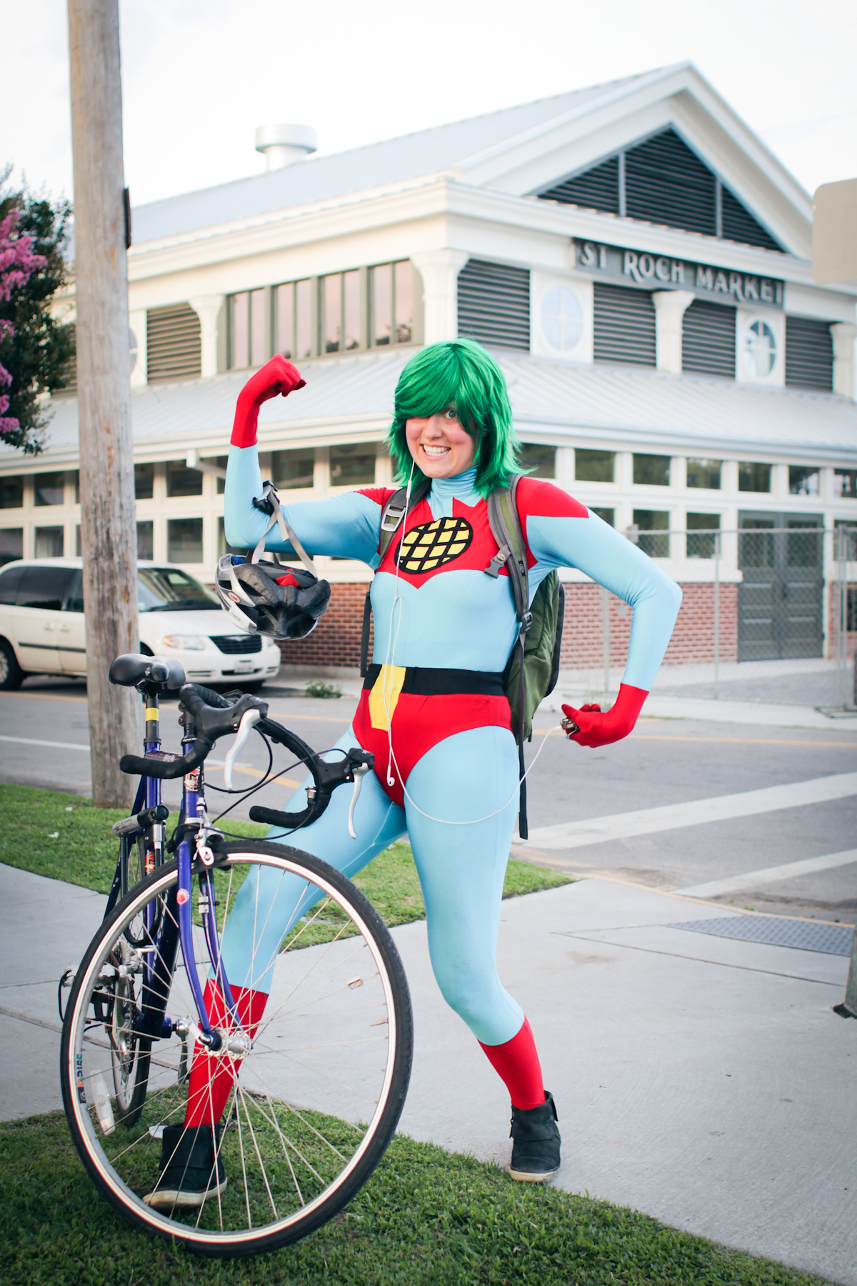 """""""I'm going on a first date right now. An OkCupid date. I posted on Facebook: 'Should I go as Captain Planet? Pro: it will be the most memorable first date ever. Con: it will be the most memorable last date ever.'"""""""