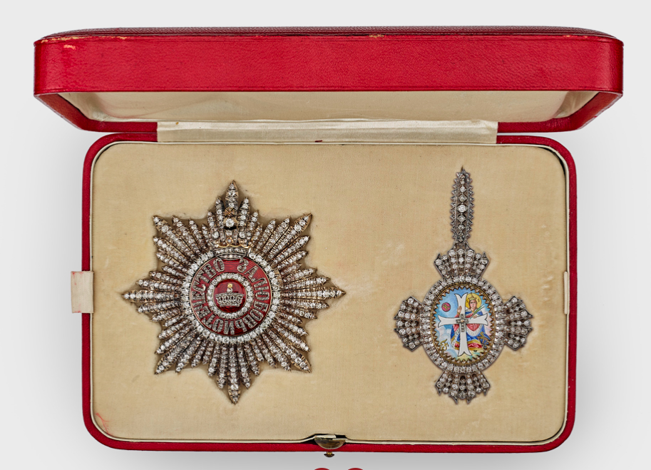 Queen Mary's own set of the Order of St Catherine Grand Cross, Royal Collection Trust, London, IK