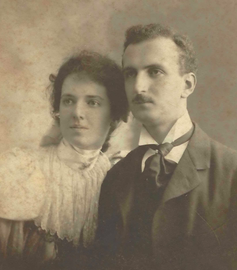 Mr. and Mrs. Ernesto Fabbri, ca. 1900. Mrs. Fabbri née Edith Vanderbilt Shephard