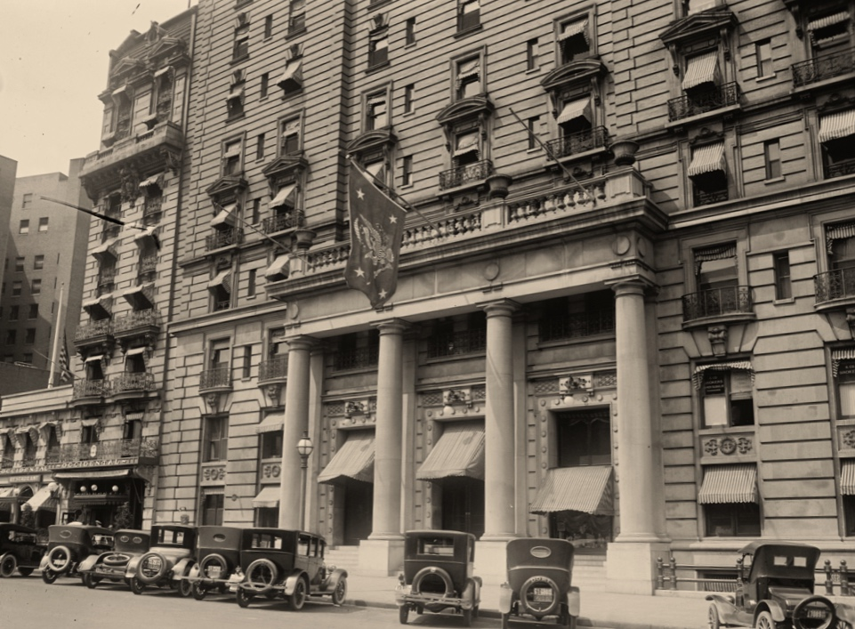 The Willard hotel, Washington DC, ca. 1920.