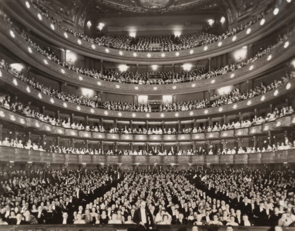 the Old Metropolitan opera house, broadway at 39th street, New York