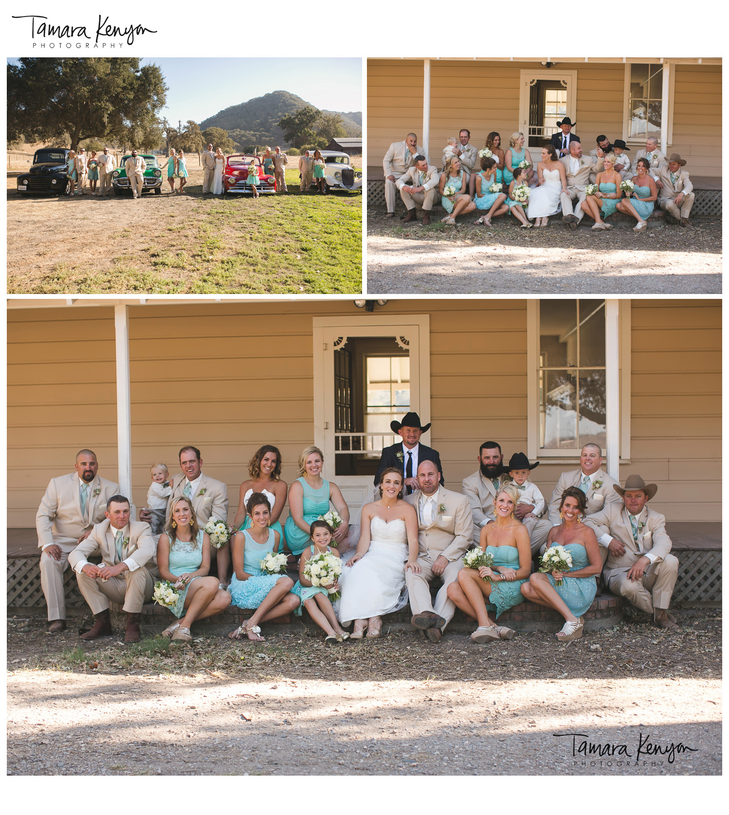 country_wedding_boise_large_bridal_party