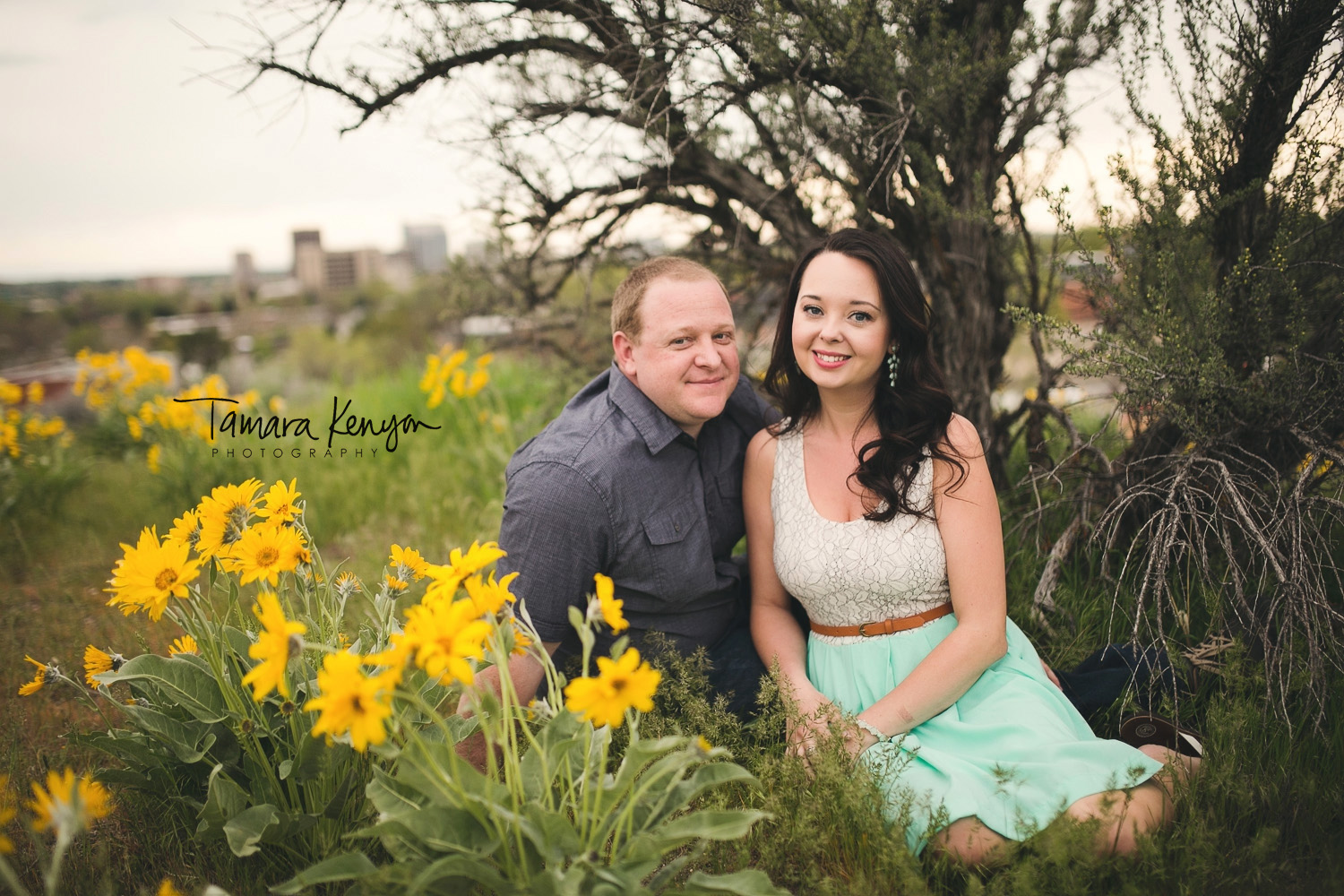 Spring Engagement Session in Boise