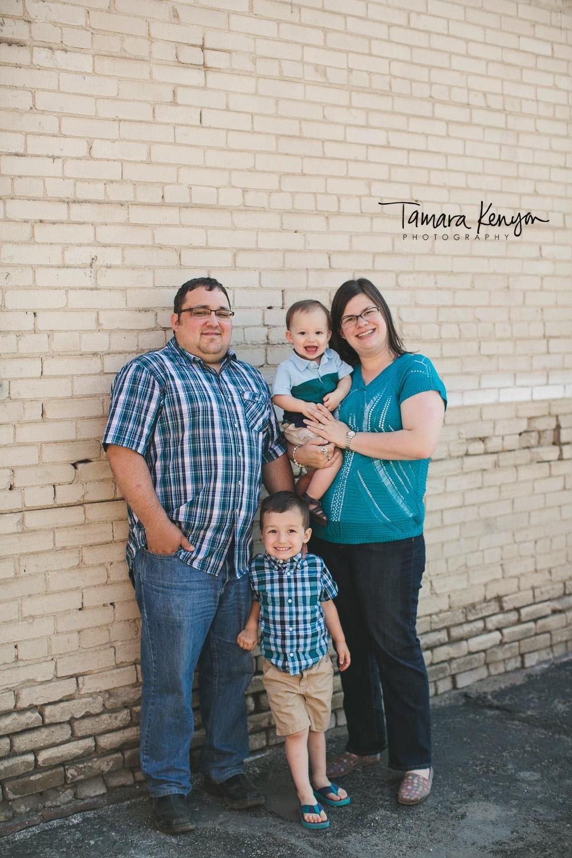 downtown boise family photos
