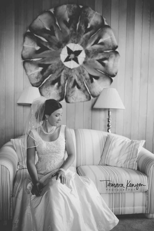 bride in rustic cabin wedding photographer idaho