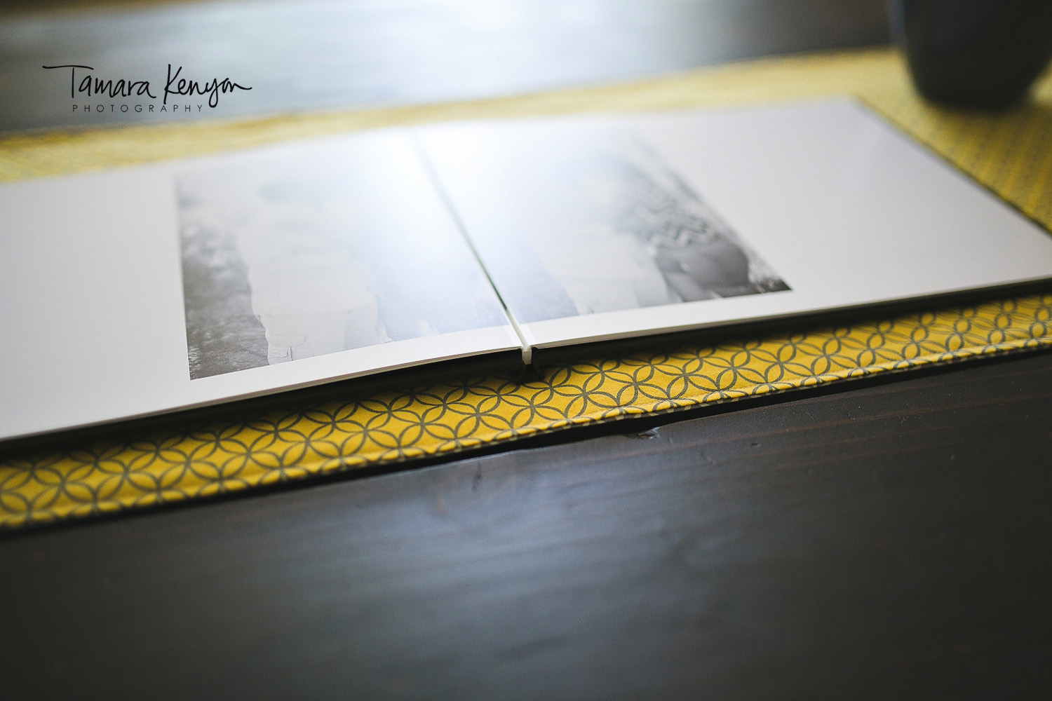 engagement photo wedding guestbook