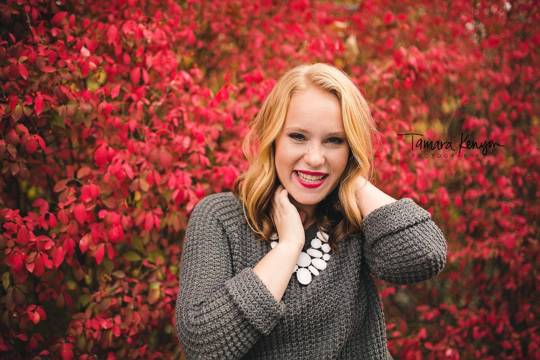 fall senior photos in boise photographer