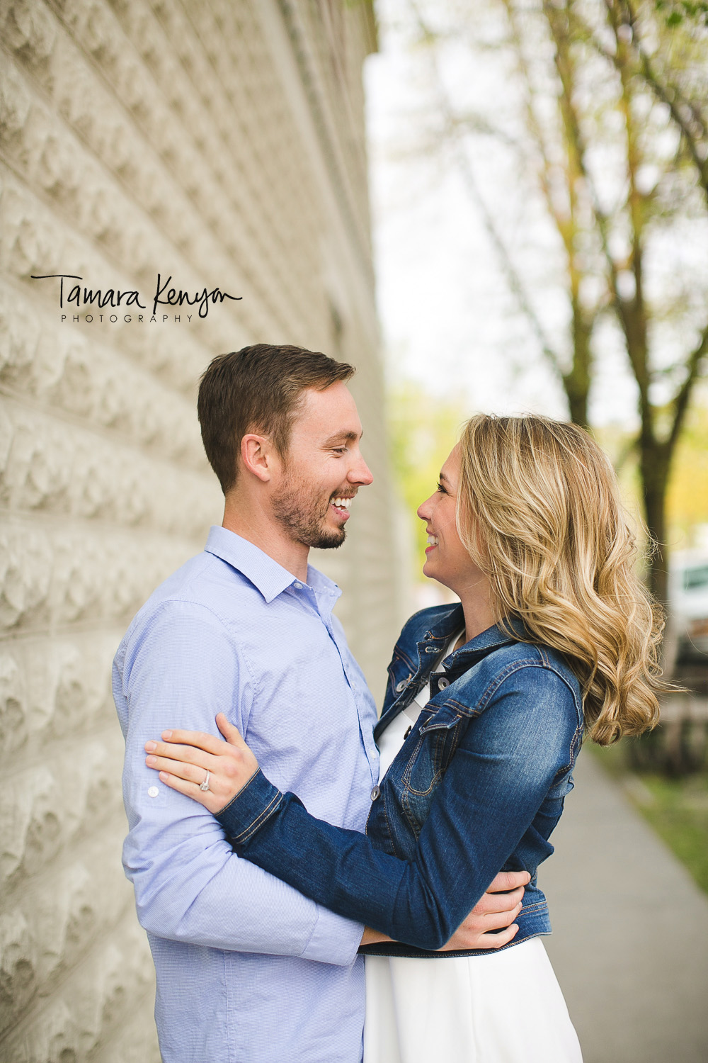 north end engagement session in boise