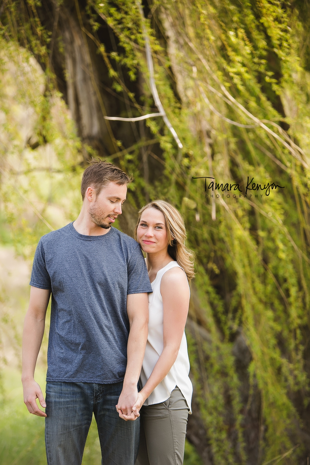 spring engagement in boise