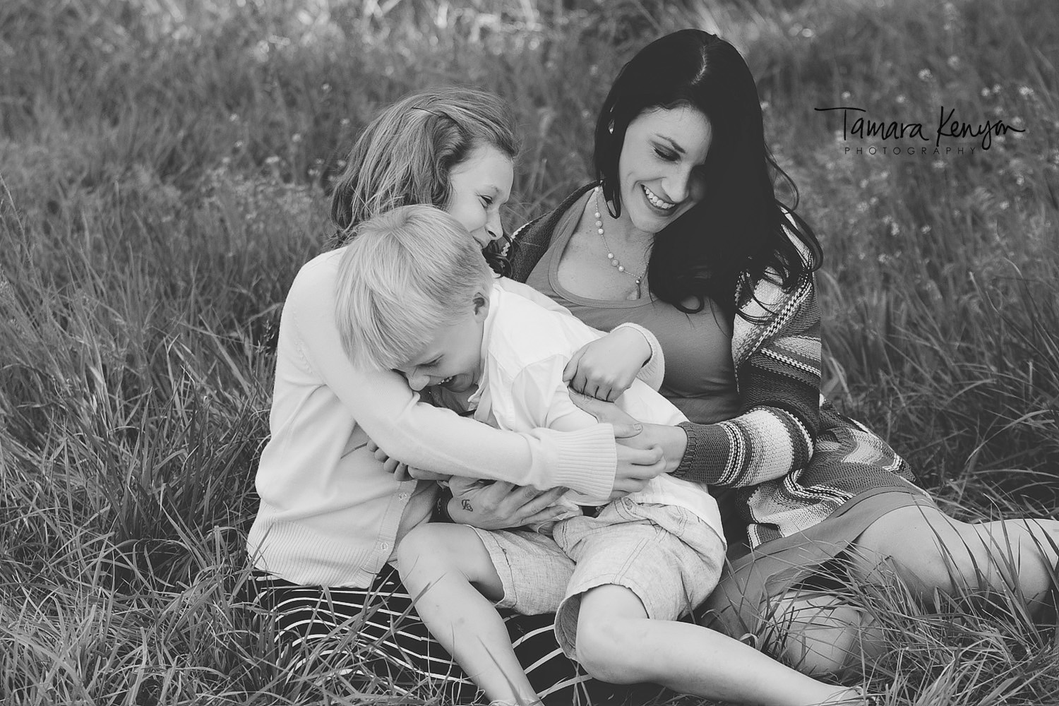 mom and her kids boise photographer