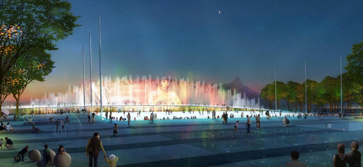 Qingyun Fountain Show