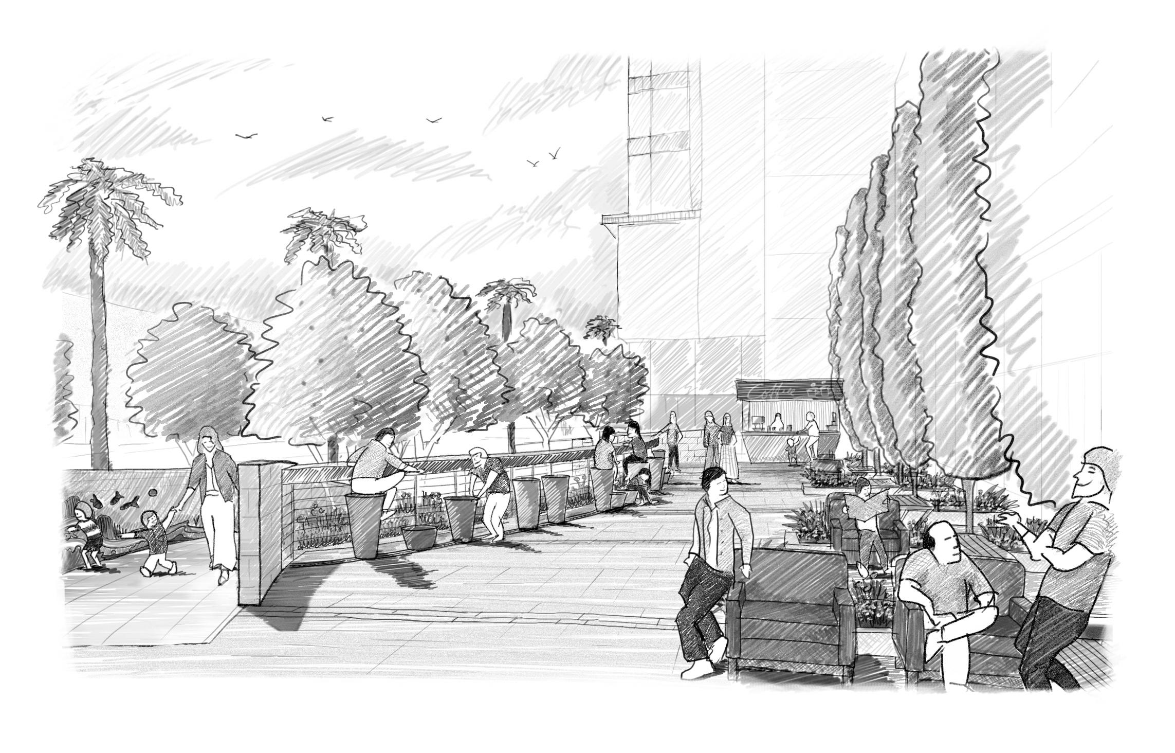 Sketch_07_Stools_3rdSt_Plaza_B_BW.jpg