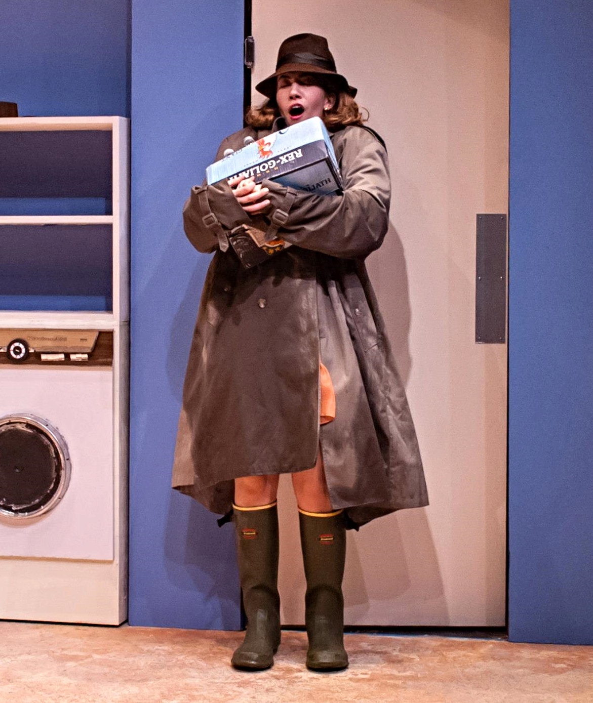 Samantha Evans (Jane) in Absurd Person Singular at Central Square Theater (Photo by AR Sinclair Photography)